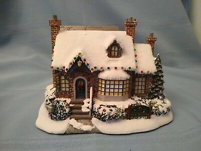 Thomas Kinkade Hawthorne Village-- Village Tea Room--Lighted