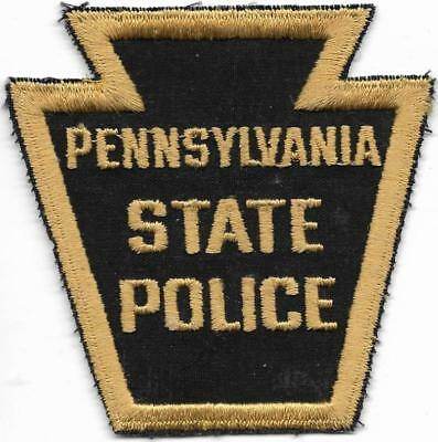 STATE POLICE  PENNSYLVANIA Staats-Polizei 80er J. Abzeichen Patch HIGHWAY PATROL