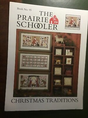 The Prairie Schooler cross stitch pattern called 'Christmas Traditions' Book No.