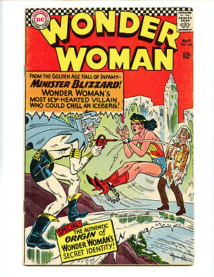 Wonder Woman 162 VG 4.0 copy, bondage cover!