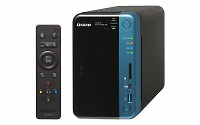 NEW! QNAP TS-253B-8G 24TB 2 x 12TB SGT-IW 2 Bay Desktop NAS with 8GB RAM