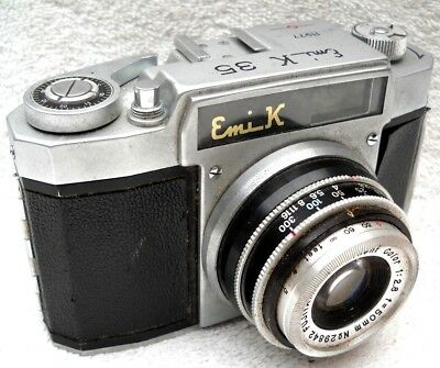 **1956 EMI K JAPANESE 35mm VIEWFINDER CAMERA IN EXCELLENT OVERALL CONDITION**