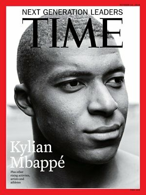 Time magazine Oct 2018 Latest Issue Kylian Mbappe Is the Future of Soccer