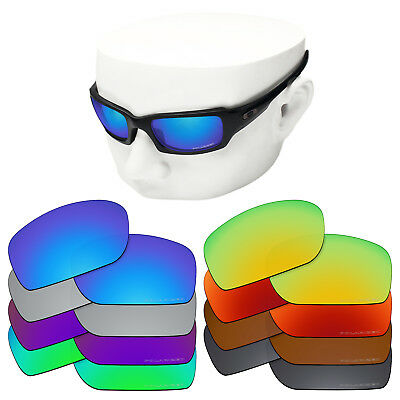 dce3fb4a0a2f7 OOWLIT Replacement Lenses for-Oakley Fives Squared Sunglasses Polarized  Etched