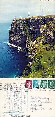 1975 Dunnet Head Caithness Scotland Colour Postcard