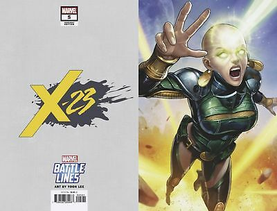 X-23 (2018) #5 - YOON LEE BATTLE LINES VARIANT COVER - Bagged & Boarded