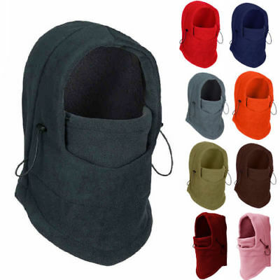 Warm Fleece Thermal Neck Balaclava Hood Police Wind Swat Stopper Face Mask