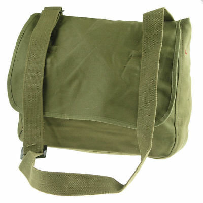 Surplus Vietnam War Chinese Military Pla Type 65 Bag Pouch Canvas Green