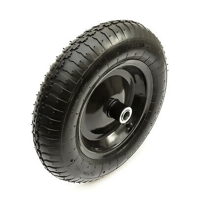 14 Inch 3.50-8 Wheelbarrow Metal 8 Inch Wheel & Tyre + Innertube + Bearing 350-8