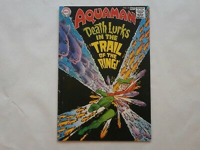 *AR*  DC Silver Age Comic Aquaman #41 Oct 1968 The Trail of the Ring! VG