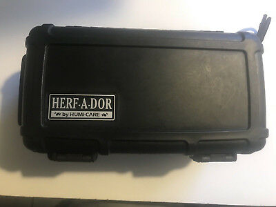 Herf-a-dor Cigar Caddy X15 Travel Humidor, 15 Cigars