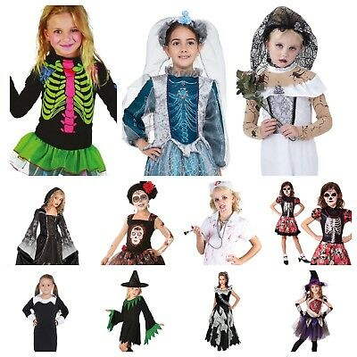 Halloween Costumes For Kids Girls Zombie.Kids Girls Scary Zombie Vampire Skeleton Witch Ghost 20 Halloween Costumes