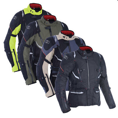 Oxford Montreal 3.0 Motorcycle Motorbike Textile Waterproof Touring Jacket