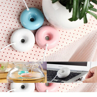 Home Office Mini USB Donuts Humidifier Floats On The Water Air Fresher 2018