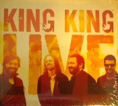 """King King """"Live"""" (2CD+DVD) Brand new sealed - amazing value (Alan Nimmo)"""