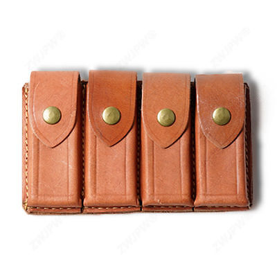 New Chinese Kmt Army Kuomingtang Army Mauser Leather Ammo Pouch
