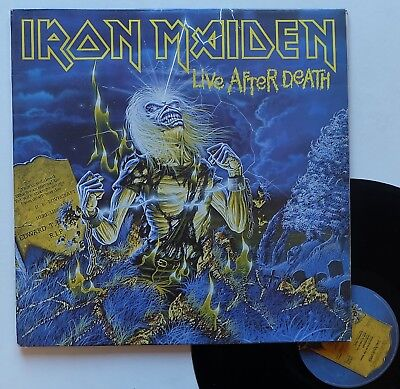 "LP Iron Maiden  ""Live after death"" - (TB/TB)"