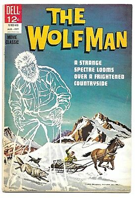 The WOLFMAN #1 (1964) Dell Movie Classic *Happy Halloween*