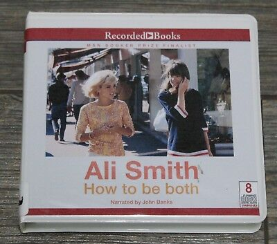 How to Be Both by Ali Smith Audiobook CD Award Winning Book