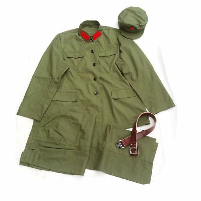 Chinese Pla Communist Party Type 65 Army Summer Uniform Size 6 Veteran Gift
