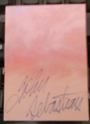 John Sebastian-The Lovin Spoonfull-Woodstock -Autographed Signed Cut