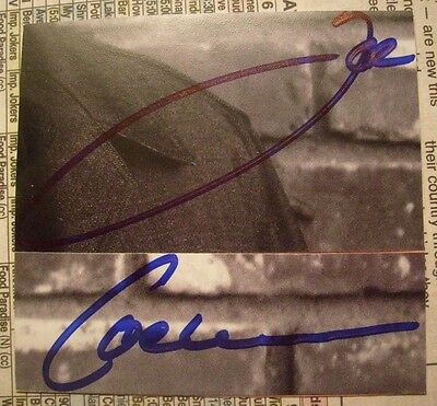 Joe Cocker -Autographed/Signed Cut-* Woodstock*