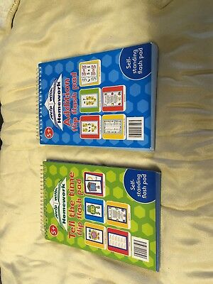 2 New Flip Books Help With Addition And Tell The Time Books