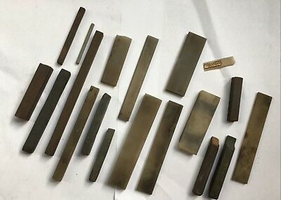 Lot Of Sharpening Stones