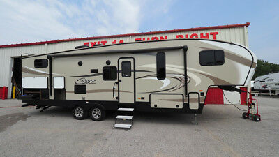 2018 Used Cougar 28 Rdb 5Th Wheel Bunk House With 2 Slide S Save Huge Off New