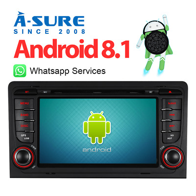 Angebot Android 8.1 DVD GPS 4G/WLAN FM  Bluetooth Navi für AUDI A3 S3 RS3  DAB+