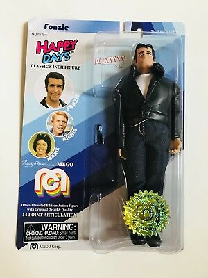 Mego Fonzie Happy Days Henry Winkler 8 inch 871/10000 In hand Ready to ship