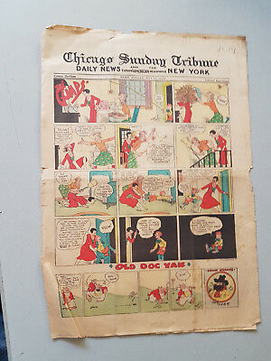 CHICAGO SUNDAY TRIBUNE COMIC SECTION - May 15th 1932 - Dick Tracy
