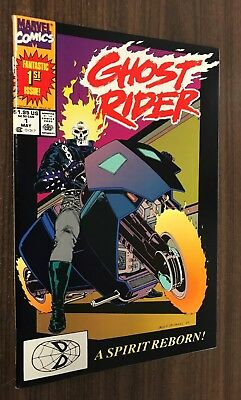 GHOST RIDER #1 (1990 Marvel) -- VF/NM Or Better