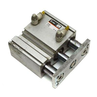 SMC EMGQM 32-50 Compact Guided Cylinder Slide Bearing Pneumatic Air 50mm Stroke