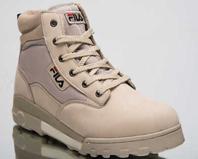 FILA GRUNGE MID New Men Lifestyle Shoes Feather Gray 2018