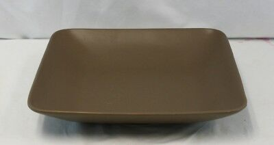 Gibson Housewares Designs Paradiso Mink Square Serving Platter
