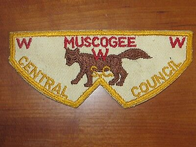 order of the arrow patch Muscogee Lodge