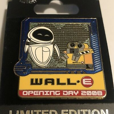 Disney Pin WALL-E Opening Day 2008 LE 500