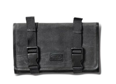 Roland Sands RSD GTFO Wax Cotton Tool Roll - Black