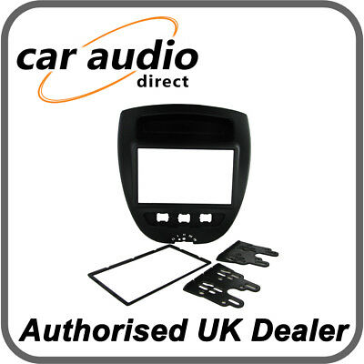 Connects2 CT23CT03 Double DIN Facia Plate Fitting Kit for Citroen C1 2005> 2014