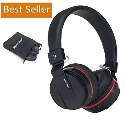 Active Noise Cancelling Wired/Wireless Bluetooth Headphones w/ Mic, Foldable