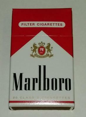 8 NEW packs unopened 1996 Marlboro Red Box Match Sticks Made in Germany