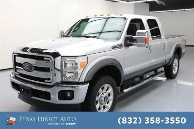 2015 Ford F-250 4x4 Lariat 4dr Crew Cab 6.8 ft. SB Pickup Texas Direct Auto 2015 4x4 Lariat 4dr Crew Cab 6.8 ft. SB Pickup Used Automatic