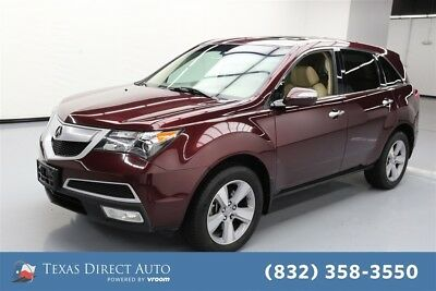 2013 Acura MDX Tech/Entertainment Pkg Texas Direct Auto 2013 Tech/Entertainment Pkg Used 3.7L V6 24V Automatic AWD SUV