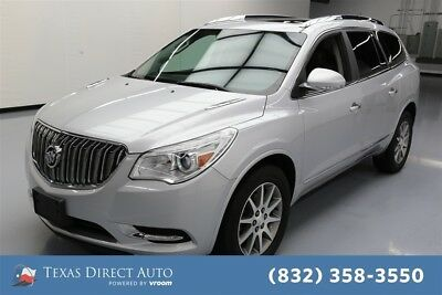 2016 Buick Enclave Leather Texas Direct Auto 2016 Leather Used 3.6L V6 24V Automatic AWD SUV Moonroof