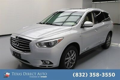 2015 Infiniti QX60  Texas Direct Auto 2015 Used 3.5L V6 24V Automatic AWD SUV Premium
