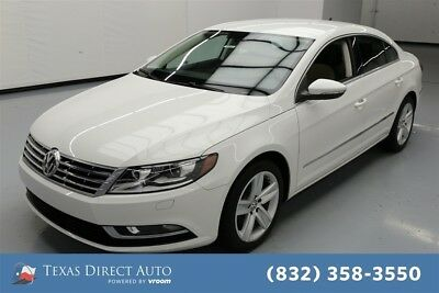 2014 Volkswagen CC Sport Texas Direct Auto 2014 Sport Used Turbo 2L I4 16V Automatic FWD Sedan Premium