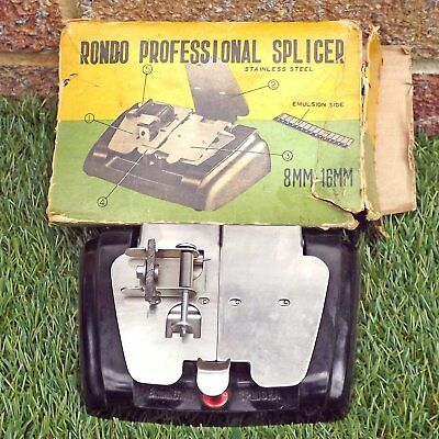 Vintage Rondo Professional Splicer 8mm - 16mm Film Splicer