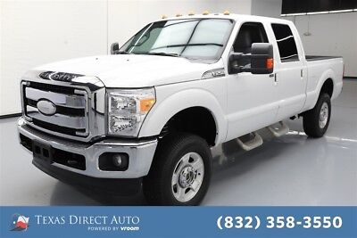 2016 Ford F-250 XLT 4dr Crew Cab 4WD Texas Direct Auto 2016 XLT 4dr Crew Cab 4WD Used Turbo 6.7L V8 32V Automatic 4WD
