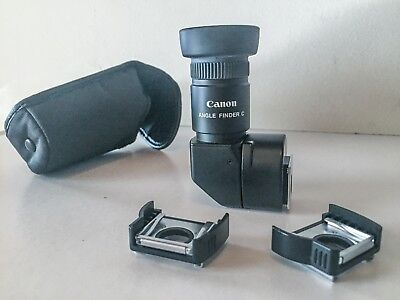 Angle Finder C, Canon with Adapter Ec-C & Ed-C